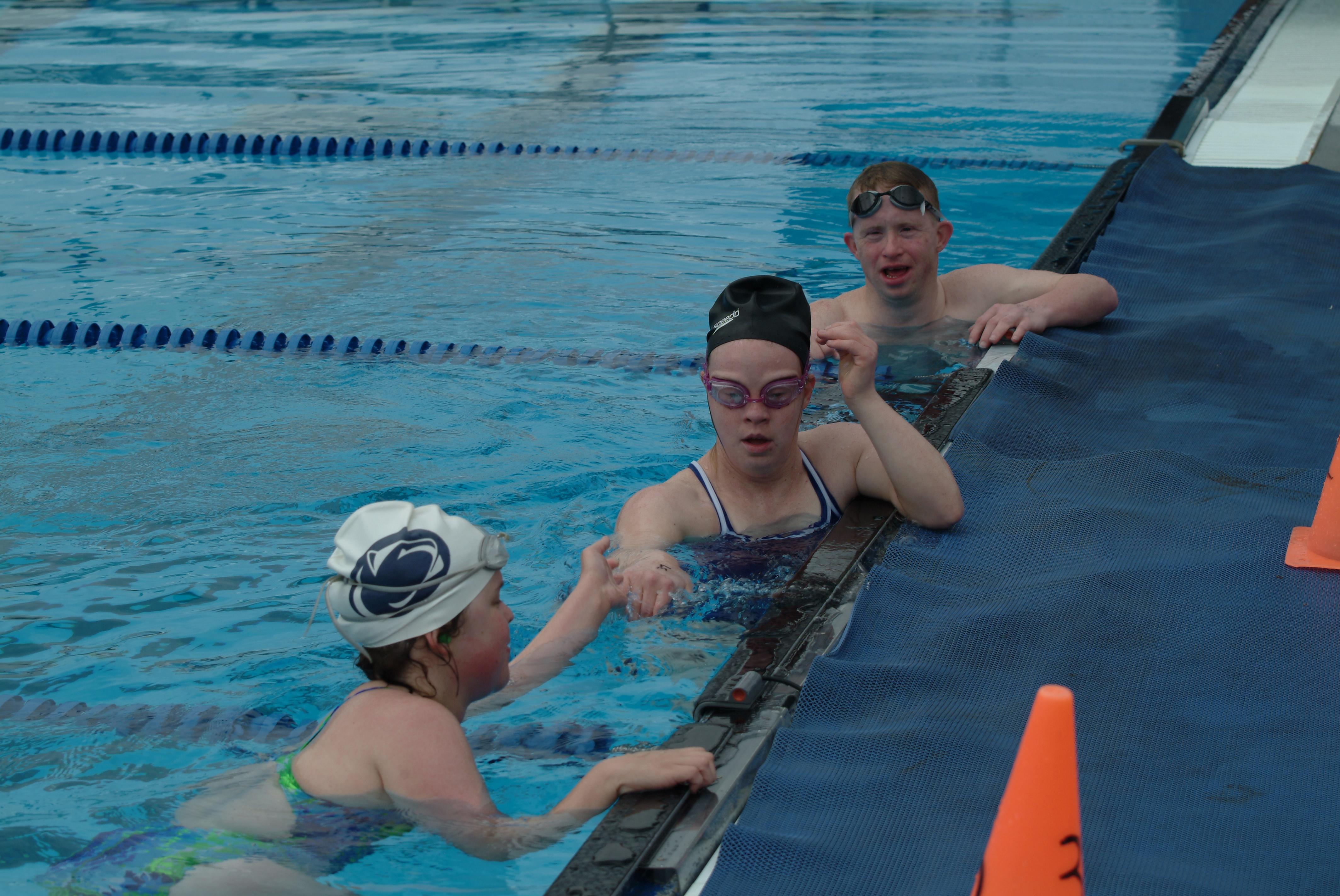 Aquatics Special Olympics Pennsylvania Philadelphia