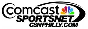 Comcast SportsNet new logo Print Quality Jpeg CSN Fall 2012 Black text color peacock on white bkgd